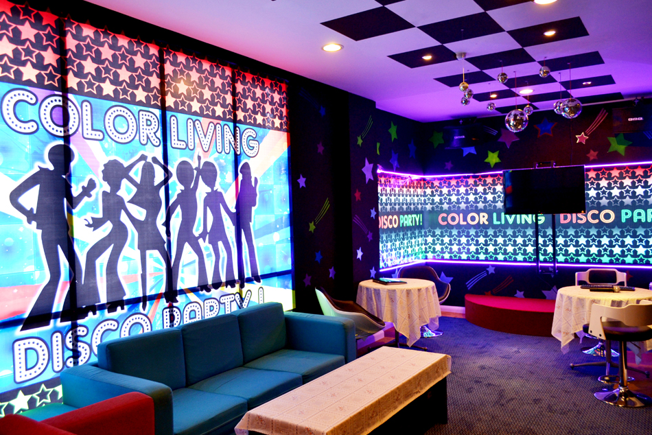 The Color Living Hotel : Karaoke Room