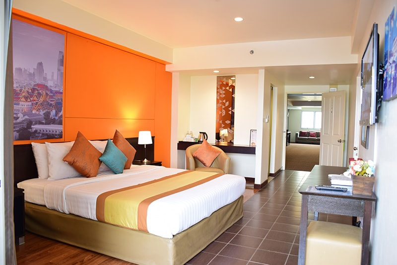 The Color Living Hotel : Grand Deluxe Rooms